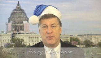 Tim Constantine wishes a very Merry Christmas from The Capital Hill Show.