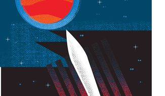 Illustration on an expedition to Mars by Linas Garsys/The Washington Times