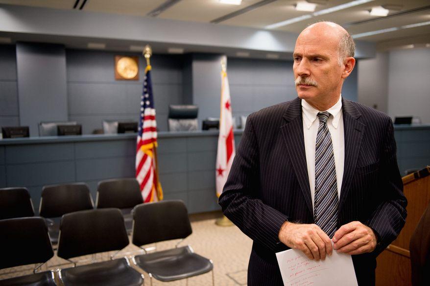 D.C. Council Chairman Phil Mendelson (The Washington Times/File)