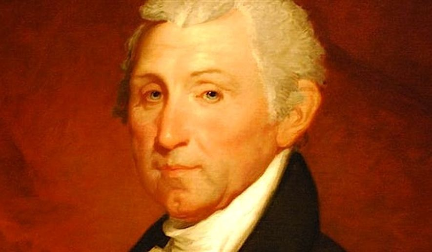 James Monroe (Image sourced from the White House)
