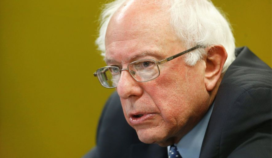 "Democratic presidential candidate Sen. Bernard Sanders was ""disturbed by reports that the government may commence raids to deport families who have fled here to escape violence in Central America."" (Associated Press)"