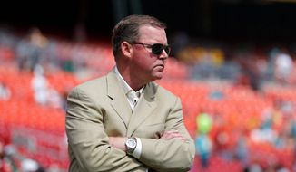 Washington had hired general manager Scot McCloughan, known as a personnel-gathering savant who grappled with personal challenges. The team drafted an offensive lineman with its first pick. It was a head-turning, agreeable decision for an organization often more attracted to shine than concrete. 