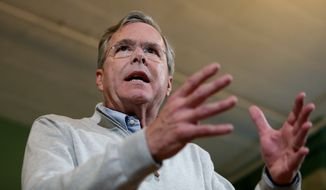 Republican presidential candidate Jeb Bush and his super PAC burned through more than half of the $133 million they raised in the first three quarters this year. The return on that investment has been a drop in polls from about 15 percent when he entered the race in June to about 4 percent in recent surveys. (Associated Press)