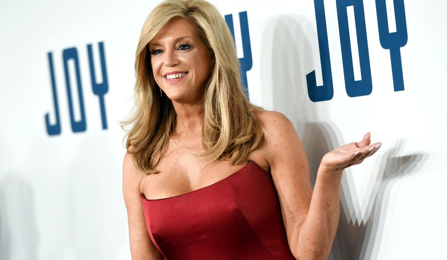 """FILE - In this Sunday, Dec. 13, 2015 file photo, inventor Joy Mangano attends the world premiere of """"Joy"""" at the Ziegfeld Theatre in New York. Mangano, 59, thinks the movie, on which she serves as executive producer, has a much more universal message that applies equally to women and men. (Photo by Evan Agostini/Invision/AP, File)"""