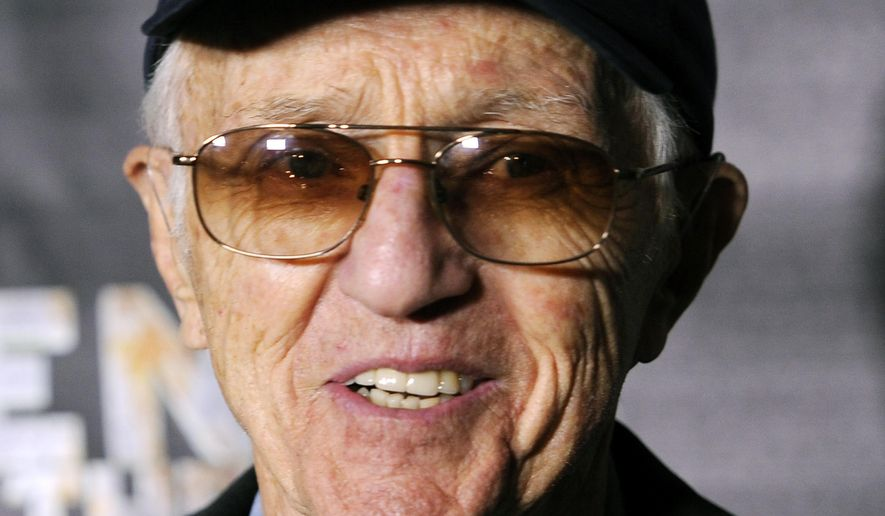 "FILE - In this Oct. 21 2011, file photo, cinematographer Haskell Wexler poses at the premiere of the documentary film ""Revenge of the Electric Car,"" at Tesla Motors in Los Angeles. Wexler, the two-time Oscar-winning cinematographer and prominent social activist, died Sunday, Dec. 27, 2015. He was 93. (AP Photo/Chris Pizzello,File)"