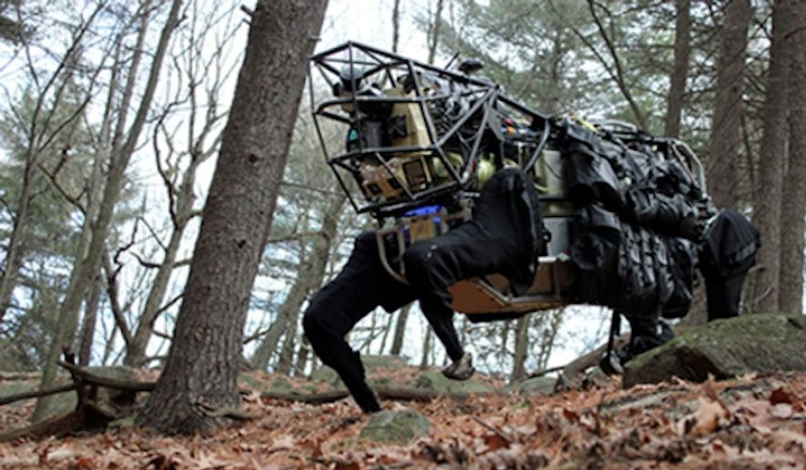 The Legged Squad Support System (LS3) (Image: Boston Dynamics)
