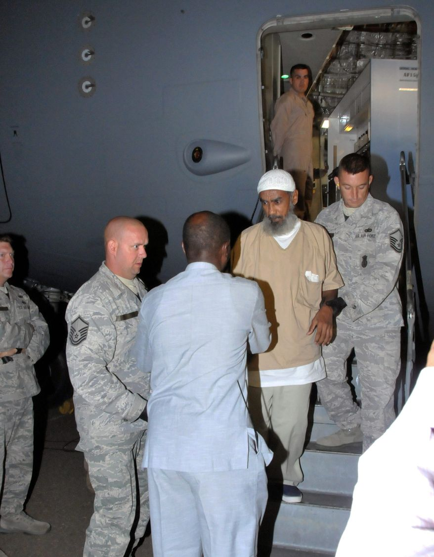 Transferred from Guantanamo in 2012, Ibrahim al-Qosi has emerged as the face and voice of Al Qaeda in the Arabian Peninsula, a group focused on attacking the U.S. On Sunday al-Qosi issued a chilling audio message urging Muslims to carry out deadly attacks on New York and Paris. (Associated Press)