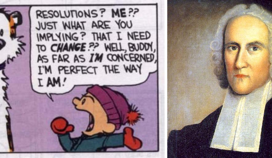 Calvin, Hobbes, and Jonathan Edwards (mashup created by Scott Lamb)
