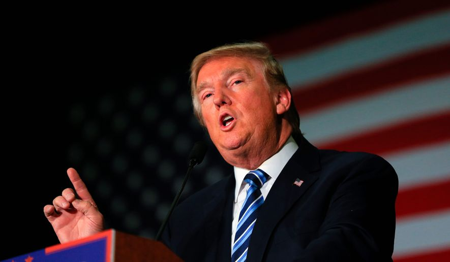 Republican presidential candidate Donald Trump has said that the past marital infidelities of former President Bill Clinton, husband of 2016 Democratic front-runner Hillary Clinton, are fair game during the ongoing campaign season. (Associated Press)