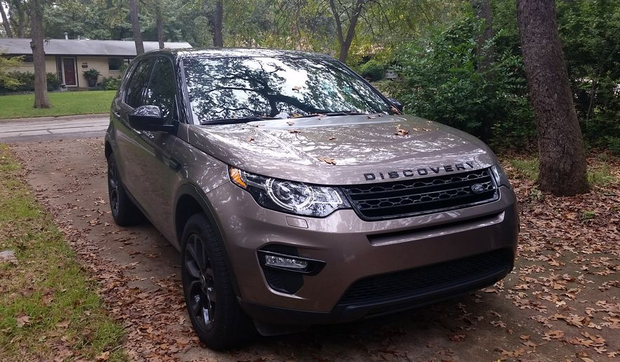 The 2016 Land Rover Discovery Sport is not only stylish, but offers pure comfort and it's not so bad on the muddy roads during these winter months or even in the snow. (Photo by Rita Cook).