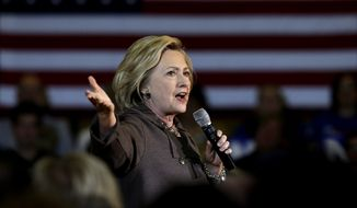 Some Democratic Party activists say there's a sense that, while it's Hillary Clinton's turn to run, there's no swell of on-the-ground enthusiasm for her to carry the party's banner into the general election. (Associated Press)