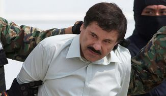 "Joaquin ""El Chapo"" Guzman, the head of Mexico's Sinaloa Cartel, escaped from a supermax prison. (Associated Press)"