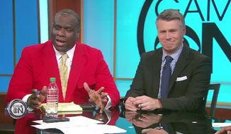 Former Redskins defensive end Dexter Manley apologized on live television Saturday after he made a racial quip about black quarterbacks. (CBS)