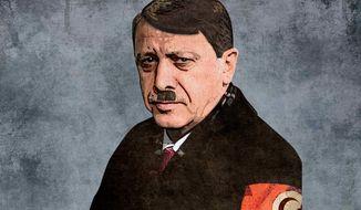 Adolf Erdogan Illustration by Greg Groesch/The Washington Times