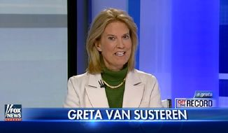 "Fox News host Greta Van Susteren slammed the Women's Media Center for ""the worst example of political correctness"" after the feminist group recently suggested banning the word ""foreign."" (Fox News)"