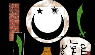 Illustration on a proposed reform of Islam by Alexander Hunter/The Washington Times