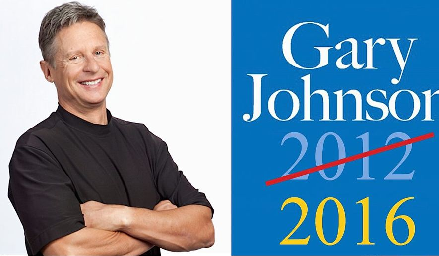 Libertarian Gary Johnson is running for president for a second time and is ready to rumble. (Gary Johnson 2016/A LibertarianFuture.com)