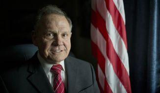 Alabama Chief Justice Roy Moore (Associated Press/File)