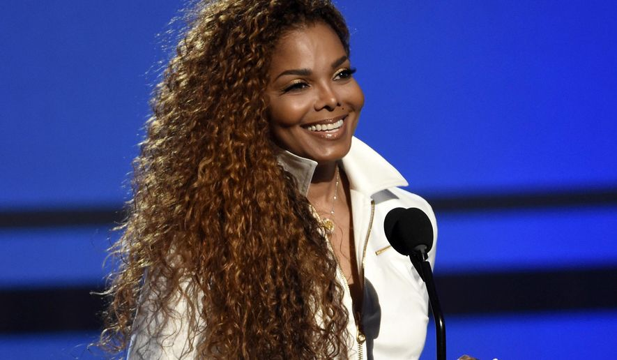 """FILE - In this June 28, 2015, file photo, Janet Jackson accepts the ultimate icon: music dance visual award at the BET Awards in Los Angeles. Jackson announced Wednesday, Jan. 6, 2016, that she's recovering from an unspecified illness. In a two-minute video on Twitter, Jackson posted a clip from her song """"The Great Forever"""" followed by a personal message """"My doctors have approved my concerts as scheduled in Europe, and as I promised, the postponed shows will be rescheduled. Thank you for your prayers and love,"""" the singer wrote.  (Photo by Chris Pizzello/Invision/AP, File)"""