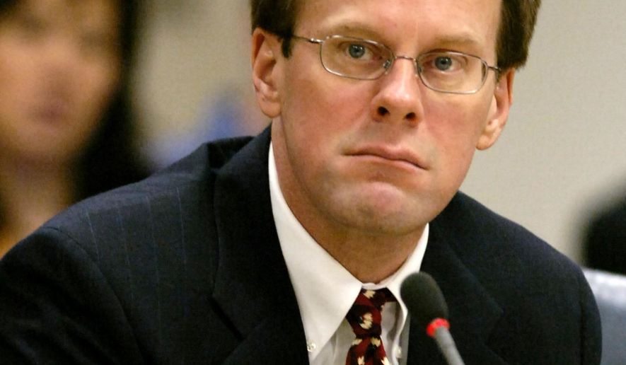 FILE - In this Jan. 7, 2008 file photo, Mark Jensen is pictured before opening statements in his trial in Elkhorn, Wis. The Wisconsin man found guilty in his wife's death after prosecutors said he poisoned her with antifreeze could go free after a bail hearing. The Wednesday, Jan. 6, 2016 hearing comes after an appeals court ruling upheld a federal judge's decision to overturn Jensen's 2008 conviction, setting up a retrial in Kenosha County. (Sean Krajacic/Kenosha News via AP, File)