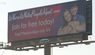 """Sam Russell, the Utah man behind the new dating site WhereWhitePeopleMeet.com, denies allegations of racism, saying he simply wanted to create an """"equal opportunity"""" for white people who prefer to date other whites. (FOX 13)"""