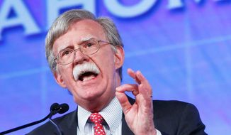 Former U.N. Ambassador John R. Bolton has endorsed 16 members of Congress running for re-election; his PAC will contribute $100,000 to them to maintain House and Senate majorities. (Associatd Press)
