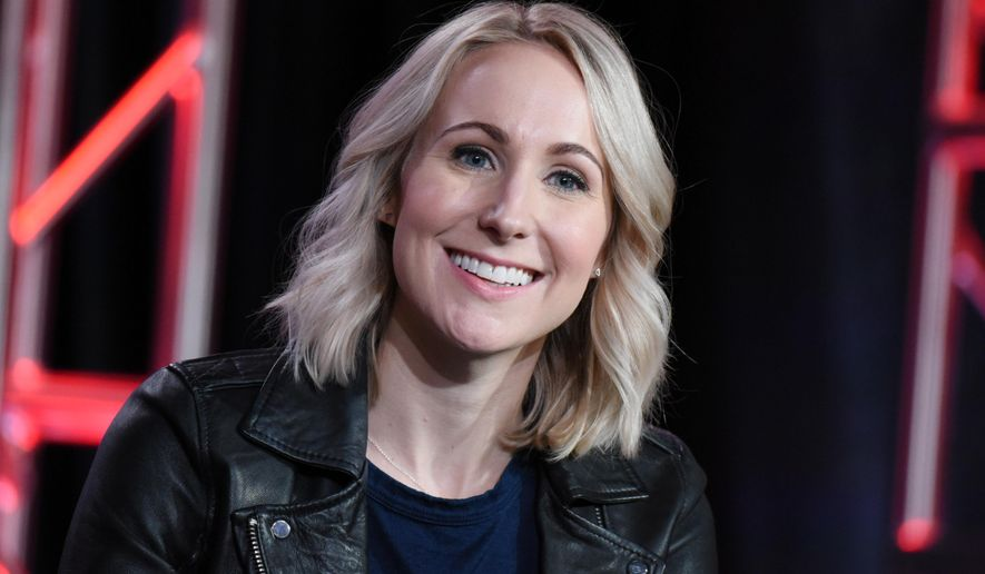 "Nikki Glaser speaks during the ""Not Safe with Nikki Glaser"" panel at the Comedy Central 2016 Winter TCA on Wednesday, Jan. 6, 2016, in Pasadena, Calif. (Photo by Richard Shotwell/Invision/AP)"
