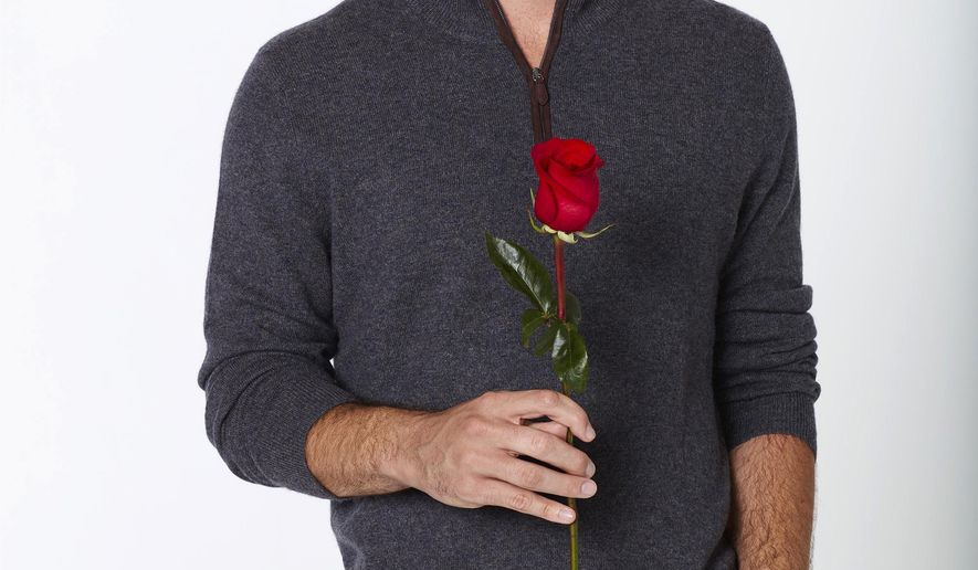 "This image released by ABC shows 26-year-old Denver-based business analyst Ben Higgins, the latest bachelor on the ABC romance competition series ""The Bachelor,"" airing Mondays on ABC.  (ABC/Craig Sjodin)"