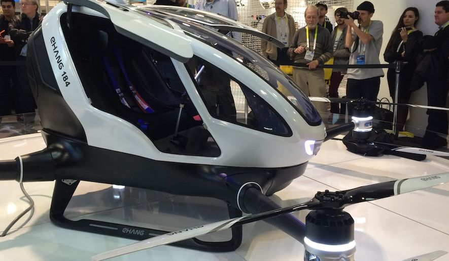 Now you can take videos from a driver's seat in your own drone by Ehang. Cost is about $250,000.