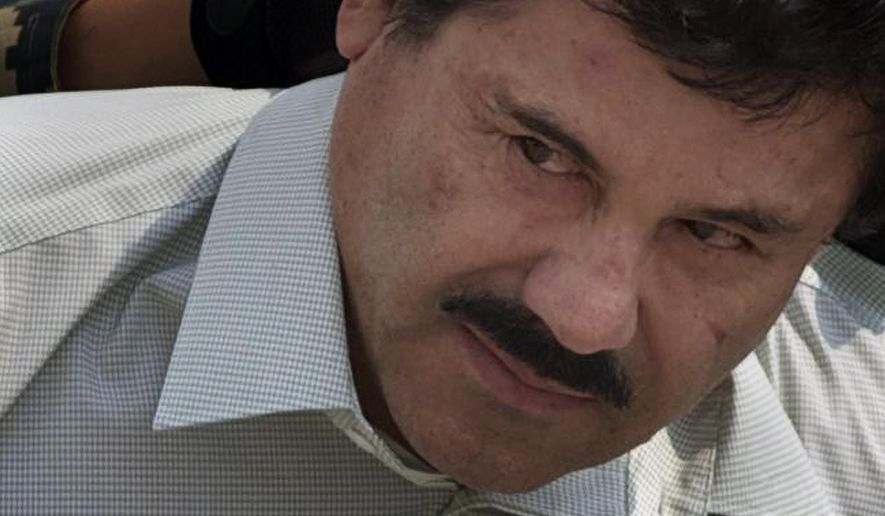 "Joaquin ""El Chapo"" Guzman was recaptured Friday in the city of Los Mochis in his home state of Sinaloa after a shootout that killed five of his associates and wounded one marine. (Associated Press)"