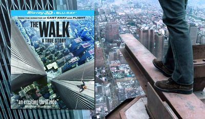 """Joseph Gordon-Levitt stars as Philippe Petit  in """"The Walk,"""" now available on Blu-ray from Sony Pictures Home Entertainment."""