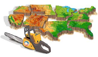 Obama has Divided the Country Illustration by Greg Groesch/The Washington Times