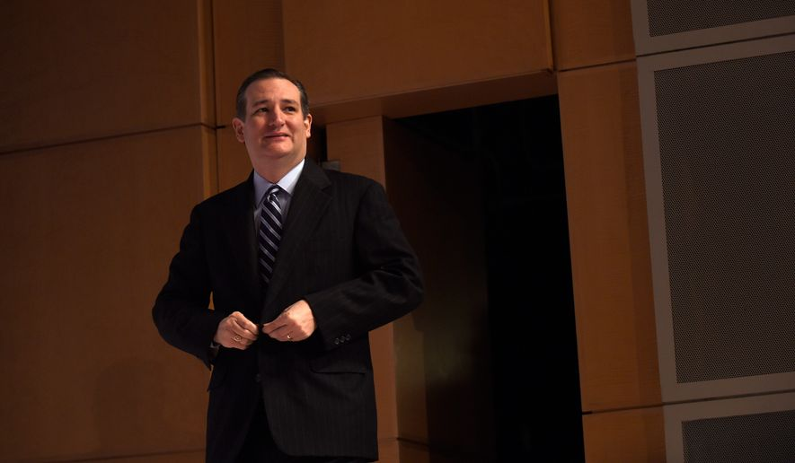 Republican presidential hopeful Ted Cruz will skip the State of the Union. (Associated Press)