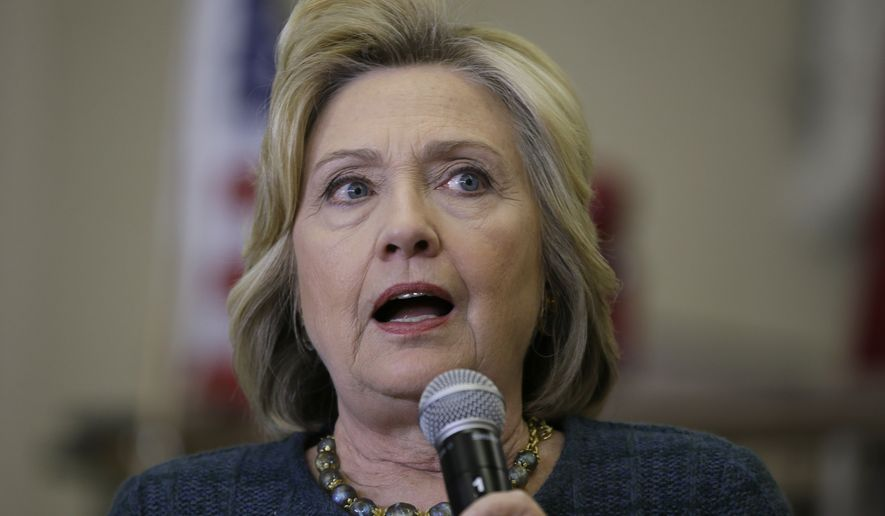 """Newly released emails from Mrs. Clinton's tenure at the State Department showed Mrs. Clinton having a cavalier attitude about sending state information from source to source, telling her staff to send her correspondence through """"nonsecure"""" channels if necessary because her fax machine was failing. (Associated Press)"""