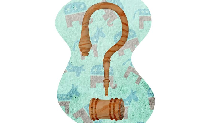 Supreme Court Appointment Illustration by Greg Groesch/The Washington Times