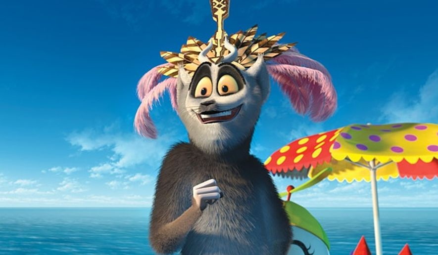"King Julien in ""Madagascar"""