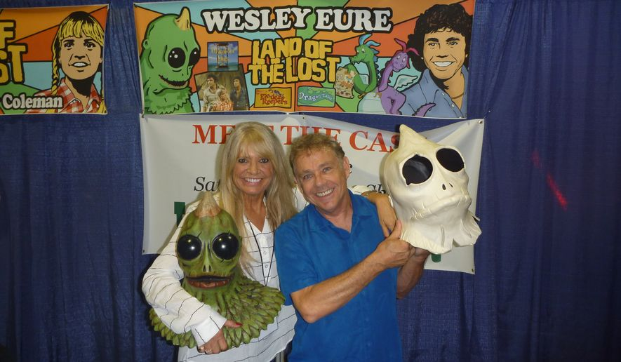 Kathy Coleman and Wesley Eure.  (Audrey Valcourt)