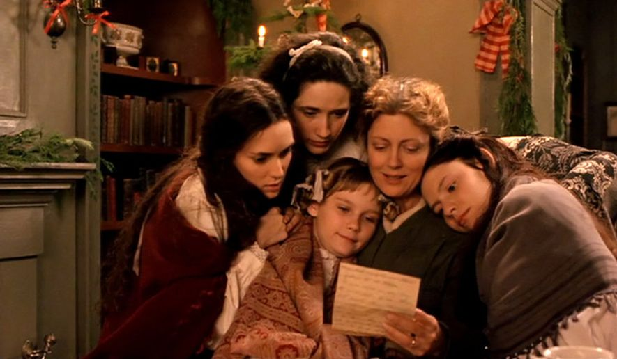 "The stars of 1994's ""Little Women"""