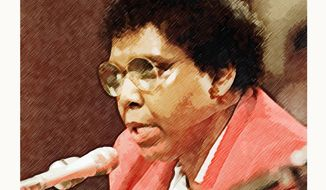 Barbara Jordan Portrait by Greg Groesch/The Washington Times