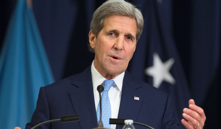 Secretary of State John F. Kerry spoke with his Iranian counterpart to quickly resolve the hostage situation. (Associated Press)