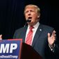 Republican presidential candidate Donald Trump has plenty of support among voters but not elected officials. (Associated Press)