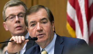 House Foreign Affairs Committee Chairman Rep. Ed Royce, California Republican, speaks on Capitol Hill in Washington on Jan. 7, 2016. (Associated Press) **FILE**