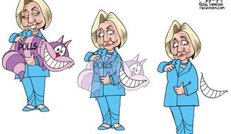 Polls (Illustration by Gary Varvel for Creators Syndicate)