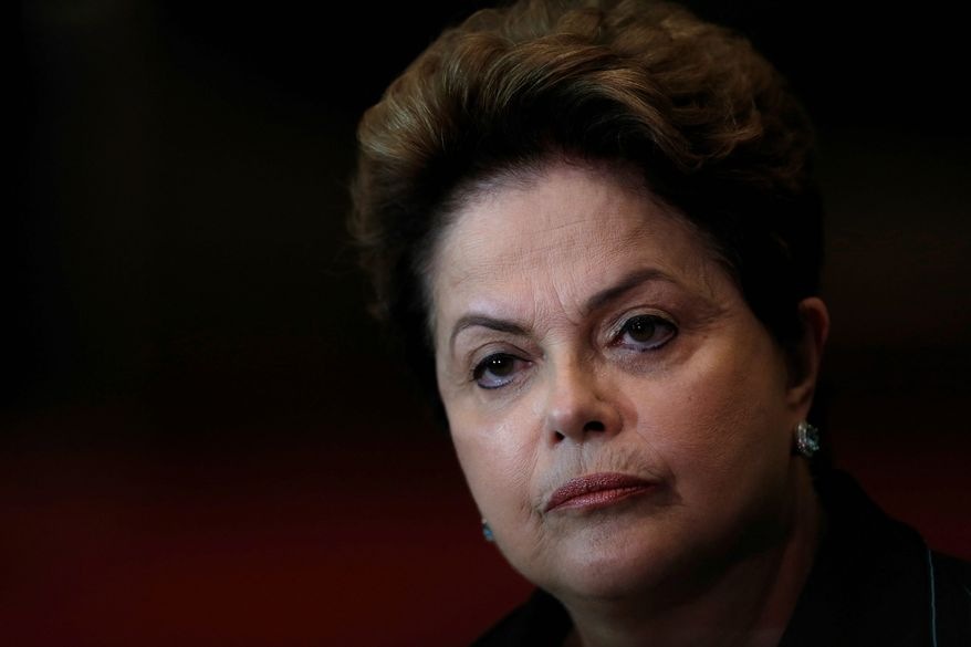 Dilma Rousseff's political woes are finding an echo across the continent, where long-entrenched left-leaning governments are facing a rising voter backlash. (Associated Press)