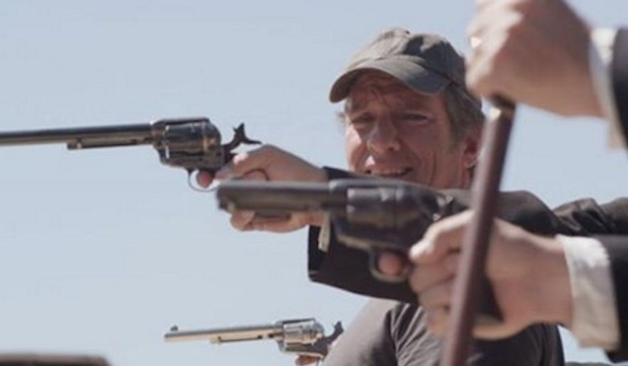 """Somebody's Gotta Do It"" host Mike Rowe said, ""I think there's something in there with gun control and the whole conversation around guns."" (Associated Press/File)"
