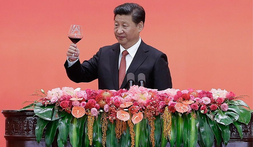 Chinese President Xi Jinping is making overtures to Middle Eastern powers regarding expanded trade. (Associated Press)