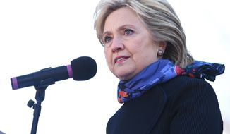 Democratic presidential candidate Hillary Clinton has had little choice in her hopes to siphon voters away from Sen. Bernard Sanders but to hew closely to President Obama's policies, which she helped craft during her time in his administration. (Associated Press)