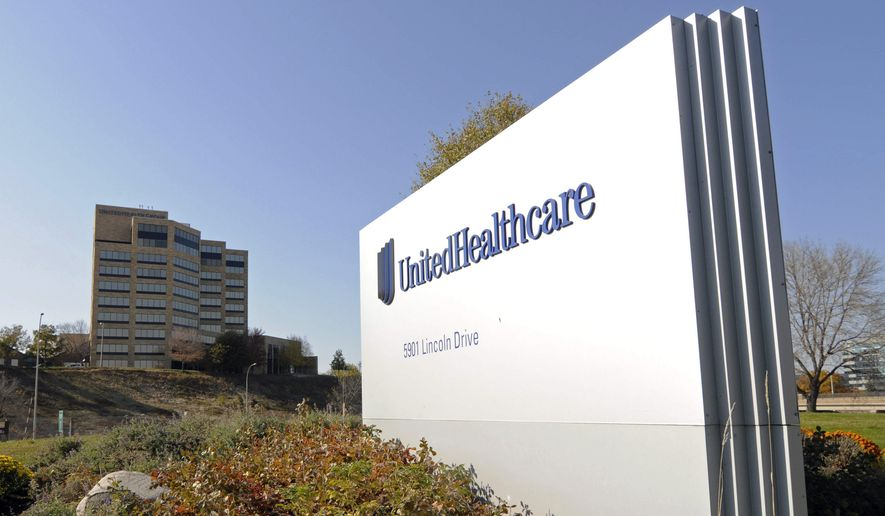 UnitedHealth, based in Minnetonka, Minnesota, shocked the health sector in November when it said it planned to scale back its offerings in the marketplace set up by the Affordable Care Act, citing a sicker-than-expected customer base which the company said was skewing the economics of the plan. (Associated Press) ** FILE **
