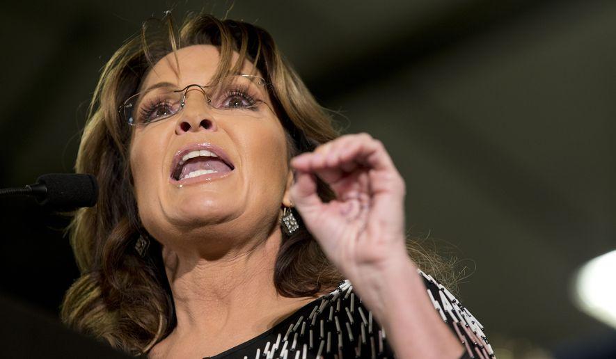 Former Alaska Gov. Sarah Palin endorses Republican ...