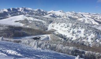 A view of ski country at Solitude in Utah.  (Eric Althoff)